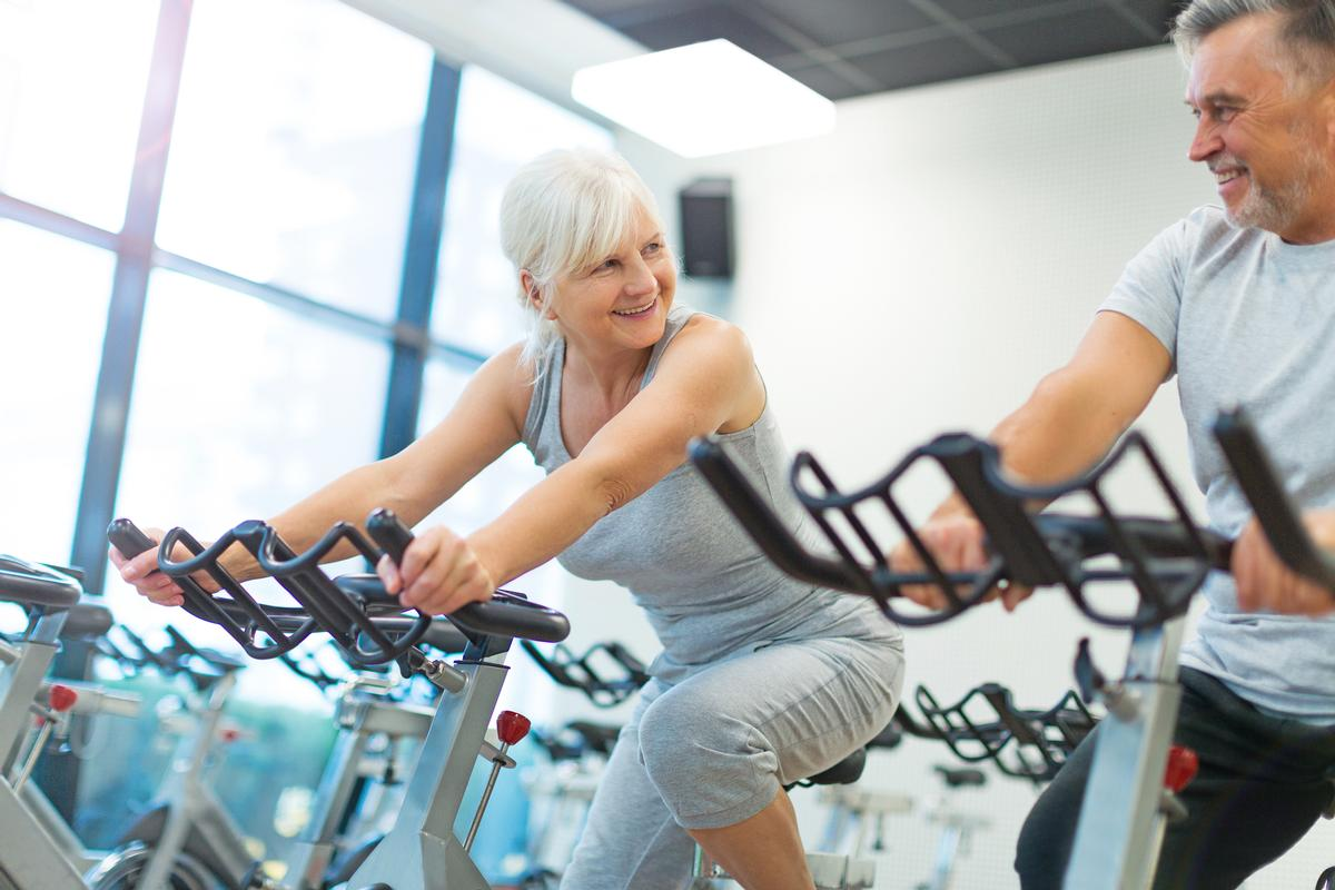 Exercise for better health, especially when older.